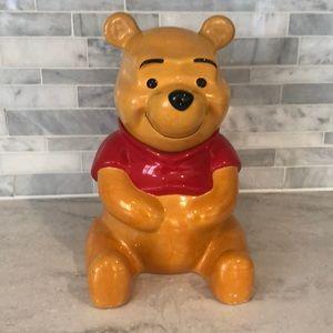 Disney Winnie the Pooh vtg danawares cookie jar
